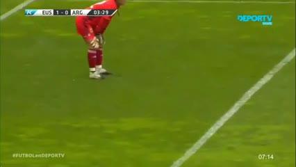 Yulema puso el 1-0 para la Selección Vasca