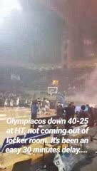 Abandono en el básquet griego