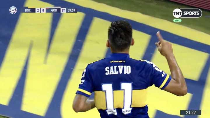 Salvio puso el 2 a 0