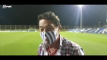 Hugo Issa, dueño del recién ascendido Lorca Deportiva