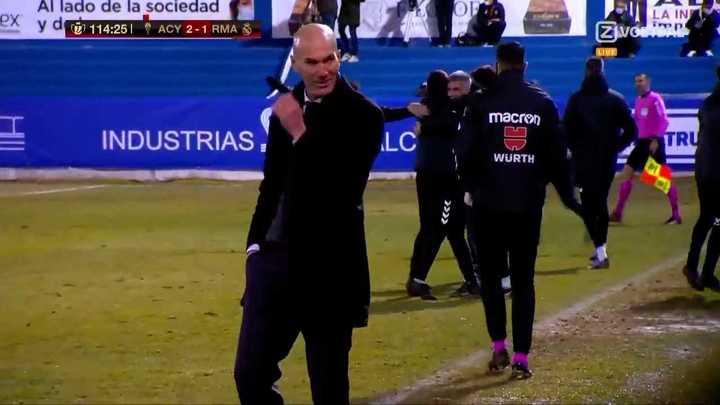 Real Madrid fue eliminado de la Copa del Rey