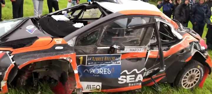 Tremendo accidente en el Rally Europeo
