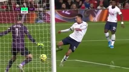 El resumen del partido entre Manchester United y Tottenham