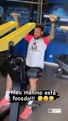 Neymar trabaja en su recuperación