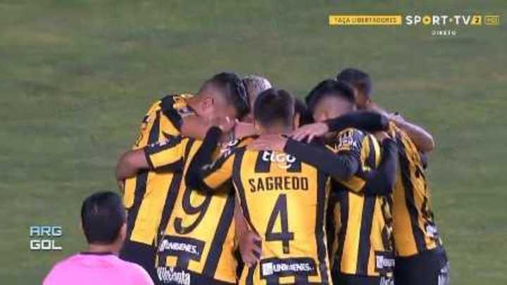 Los goles de The Strongest-Santos