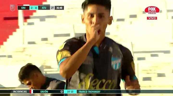 Isa Luna marcó el cuarto de Atlético