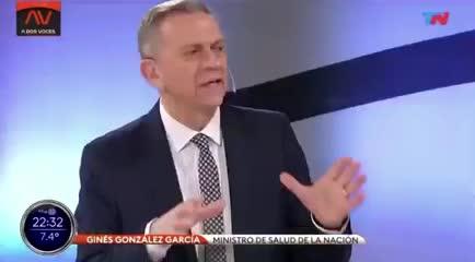 Las declaraciones de Ginés González García