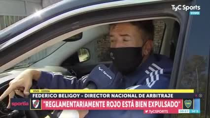 Beligoy, sobre el arbitraje de Rapallini
