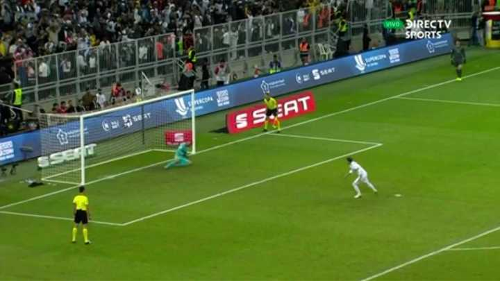 El Real Madrid lo ganó en los penales