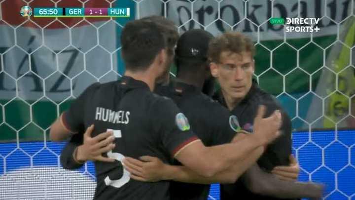 Havertz lo empató para Alemania