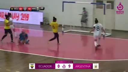Debut triunfal de la Argentina femenina en la Copa América