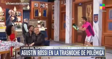 La parodia a Rossi por el primer gol de Álvarez