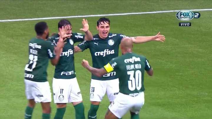 Palmeiras goleó 5 a 0 a Bolívar