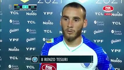Renzo Tesuri recordó al Morro