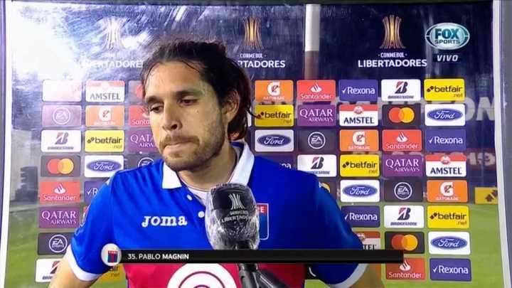 """Pablo Magnín: """"No puedo hablar, estoy muy mal"""""""