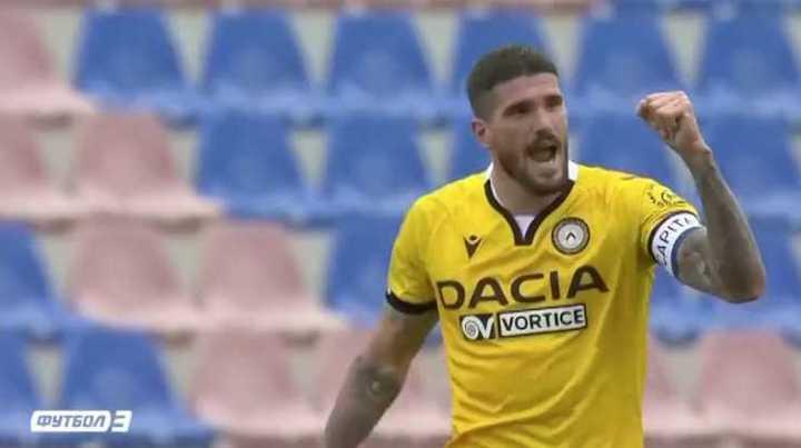 Los dos goles de De Paul para Udinese
