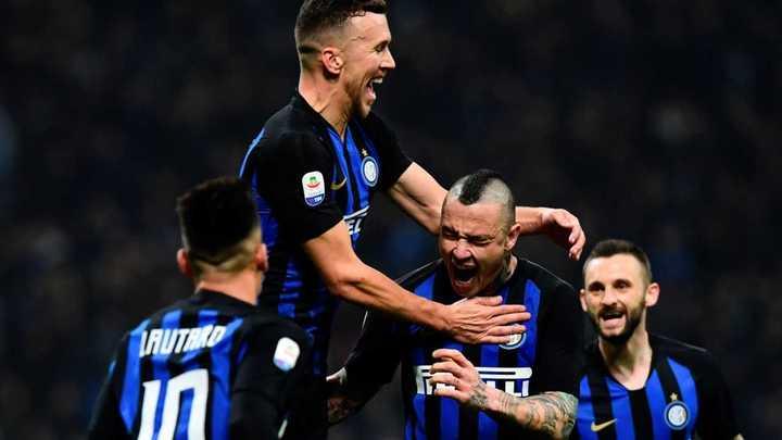 El Inter venció a la Sampdoria por 2 a 1