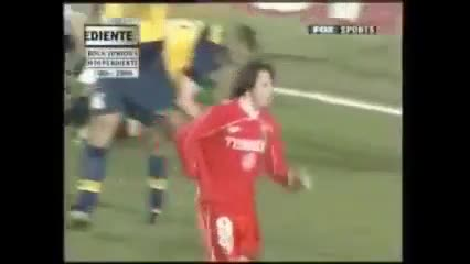 Independiente 4 - Boca 0