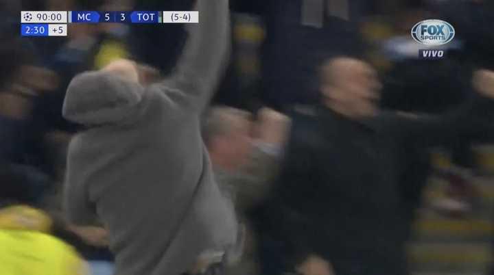 Guardiola festejó con todo, pero...