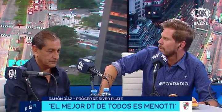 Ramón Díaz sobre el descenso de River