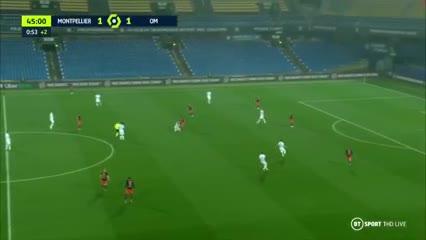 Los goles del empate entre Montpellier 3 Marsella 3