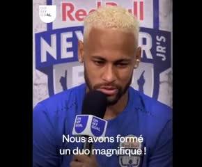 Neymar y lo que significa Messi para él