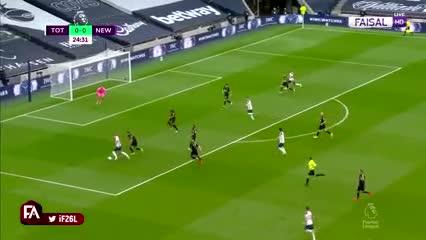 Lucas Moura adelantó al Tottenham