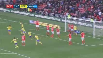 El gol de Kalvin Phillips para el agónico empate del Leeds