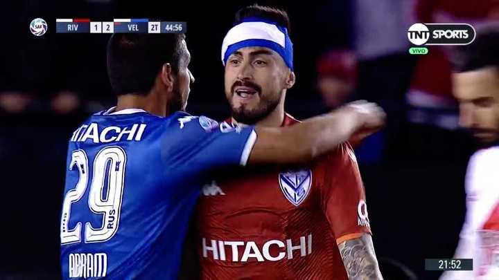Hoyos le atajó el penal a Nacho Fernández