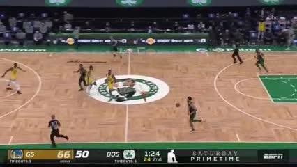 El partidazo de Curry vs. Boston