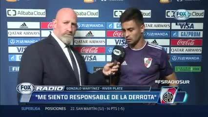"""""""Erré un penal, me siento responsable"""", dijo el Pity Martínez"""