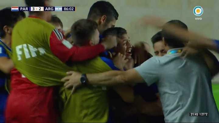Paraguay marcó el 3 a 2