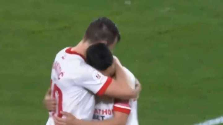 Sevilla le ganó 3 a 0 al Valencia