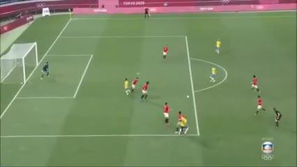Matheus Cunha hizo el gol de Brasil