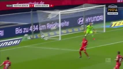 El 1 a 0 del Hertha Berlín