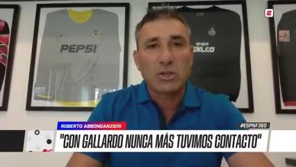 """Abbondanzieri y el cruce de 2004: """"No entendí la reacción de Gallardo"""""""