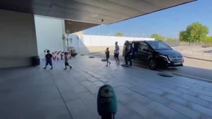 Messi, de vacaciones a Ibiza