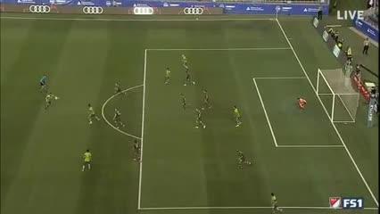 Wanchope Abila debutó en la MLS con goleada en contra