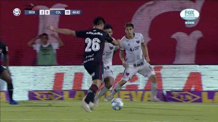 Pablo Pérez puso el 2 a 0