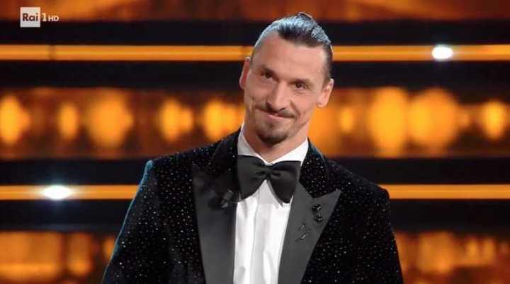 El humilde discurso de Zlatan en el festival de San Remo