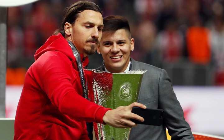 Rojo recordó la fuerte personalidad de Zlatan