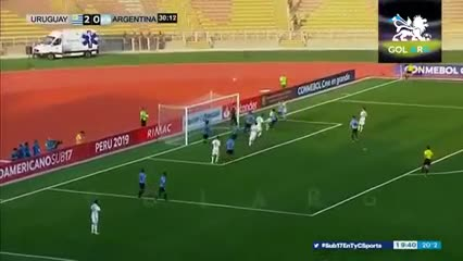 El resumen de Argentina 0 - Uruguay 3 en el Sub 17