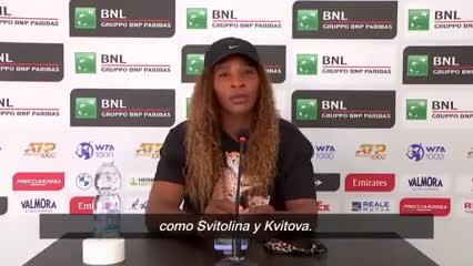 Serena Williams habló sobre el juego de Nadia Podoroska
