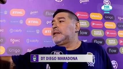 Diego Maradona: Heinze tiene un equipazo