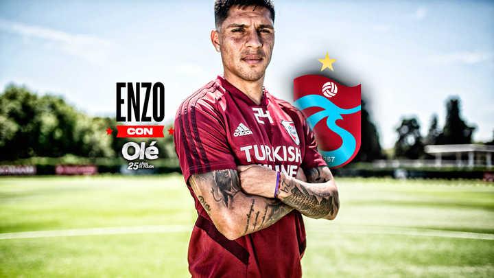 """Enzo Pérez: """"Estuve a nada de ir a Turquía"""""""