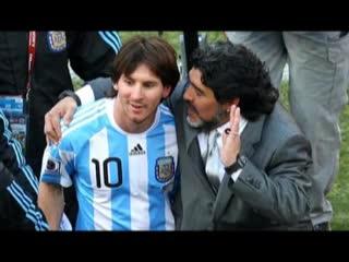 Diego sobre Messi: