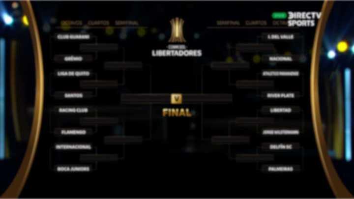Los cruces de octavos de final de la Copa Libertadores 2020