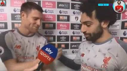 Salah le regaló su premio Man of the Match a su compañero Milner