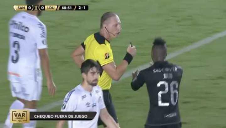 Pitana anuló, el VAR dio gol de Liga