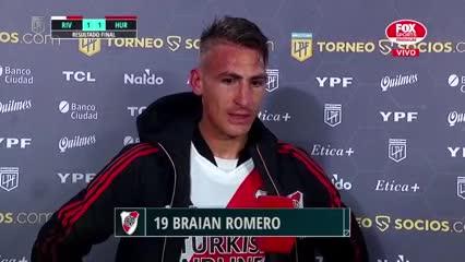 La palabra de Braian Romero